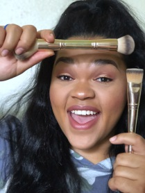 maskcara brushes face